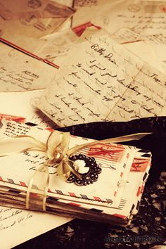 The saved mail I have from you before we married ~ and through the 13+ years apart ~ that I still sift through ...