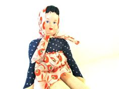 #Vintage #Cloth #Doll by #ElmPlace on Etsy, $22.00#toys