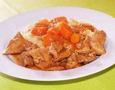 recette de Saute de dinde oriental avec companion