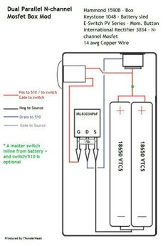 Series battery mosfet wiring diagram box mods pinterest diagrama asfbconference2016 Gallery