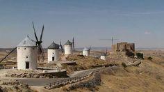 Ruta de Don Quijote. Castilla La Mancha Monument Valley, Adobe, Stock Photos, Nature, Photography, Travel, Windmills, Don Quixote, Paths