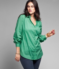 Green blouse. From H&M €14,95