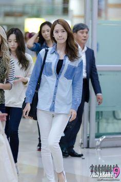 Yoona's airport fashion