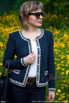 Crochet shawl cardigan sweater coats 29 new ideas Crochet Jacket Pattern, Gilet Crochet, Crochet Poncho, Free Crochet, Shrug Pattern, Crochet Baby, Cardigan Fashion, Crochet Clothes, Clothing Patterns