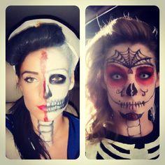 My Past Halloween Skeleton Costumes