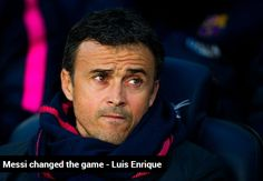 The Barca boss believes the Argentine's equalising goal just before half-time gave his side the impetus they needed to go on and beat Espanyol 5-1 at Camp Nou  www.royalewins.com