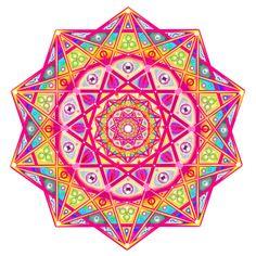 Mandala of Beauty and Infinity by 2D-Tripp.deviantart.com on @deviantART