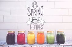 Six Juices To Get A Spring In Your Step! - Move Nourish Believe