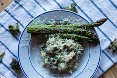 grillattua parsaa ja nokkosrisottoa / Hannan soppa