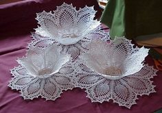 Doily Bowl Shaped Pattern