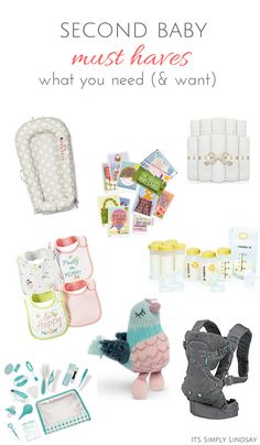 second baby must haves it's simply lindsay