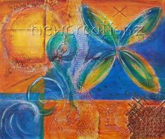 Pacific inspired painting   printable copy of by NewCreatioNZ, $10.00