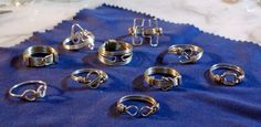 wire wrapped jewelry | Guy's Wire Wrapped Pinky Rings — Jewelry Making Journal