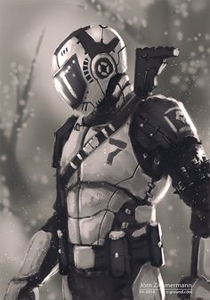Helmet Dude 17 by Nero-tbs.deviantart.com on @deviantART