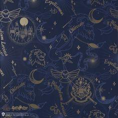 Harry Potter Navy Wallpaper