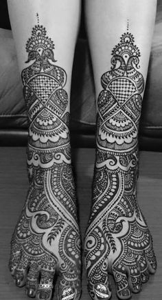 Best feet henna I have seen...