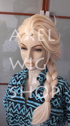 ELSA FROZEN wig Disney Parrucca di Elsa da Frozen by AxelWigShop, €75.00
