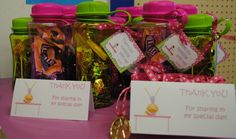 Zynia Gymnastics Party Favors for her 10th b-day. It was a success we personalized them with the girls names.