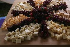 Cheese and fruit display Feastivities Catering Service