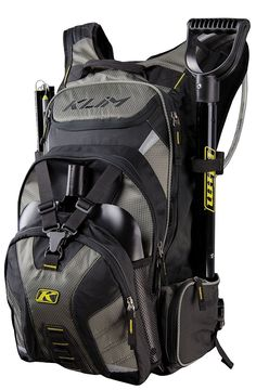 Klim Krew Pak Bag - Black - H x W x L. Top Loading, Fleece-Lined Goggle Pocket. External Shovel Blade Storage For Quick Access. Side Avalance Probe Storage And Shovel Handle Storage. Best Hiking Backpacks, Day Backpacks, Best Handbags, Fashion Handbags, Camping And Hiking, Camping Gear, Popular Backpacks, Couples Coupons, Hiking Equipment