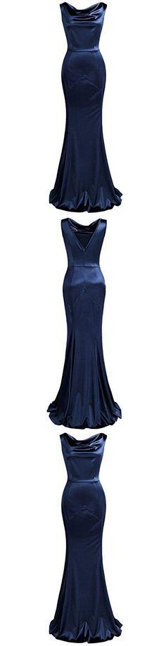 MUXXN Women's Gorgeous Vintage Mermaid Dress Wedding Gown