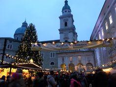 Salzburg-Austria Christmass time in december