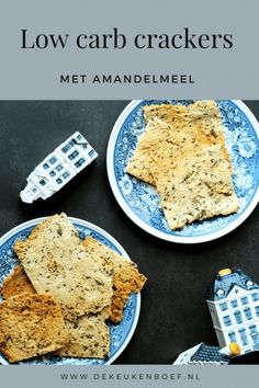 Recept voor koolhydraatarme crackers ⋆ De keukenboef