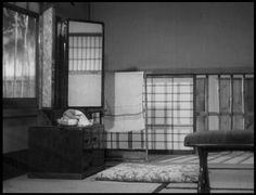 Late Spring (Yasujirō Ozu, 1949). Empty frames.