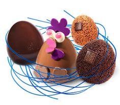 Oeufs & Poules : C'est Pâques ! , by Fabrice GILLOTTE, présent au Salon du Chocolat de Cannes, du 23 au 25 novembre 2012