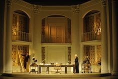 Robert Carsen's 2014 production of My Fair Lady for Theatre du Chatelet in Paris. Sets by Tim Hatley, Costume by Anthony Powell.
