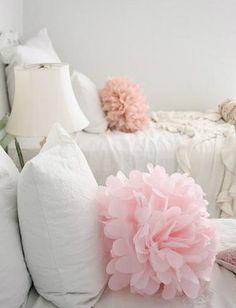 Giant Pom Pillows