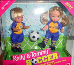 Soccer Tommy® Doll and Kelly® Doll