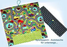 Autos - Spielteppich XXL Autotasche - ein Designerstück von Feludara-Design bei DaWanda