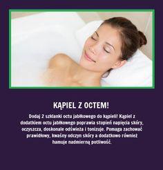 Czy wiecie, że po dodaniu dwóch lyżek octu do kąpieli... Beauty Care, Hair Beauty, Beauty Habits, Natural Cosmetics, Health Advice, Good Advice, Good To Know, Health And Beauty, Healthy Life