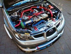 May I check under your hood ? Yeah sure a long as your jaw doesn't touch it when you do. Subaru Models, Subaru Cars, Subaru Impreza Sti, Wrx Sti, Colin Mcrae, Tuner Cars, Japan Cars, Car Tuning, Rally Car