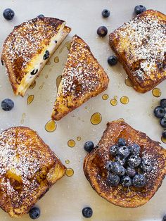 Blueberry Cheesecake Stuffed French Toast by spicyicecream, via Flickr