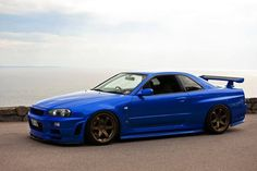 Nissan Skyline GT-R R34  I'm buying one as soon as it's legal.