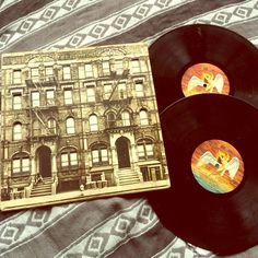 Led Zeppelin Vinyl records Led Zeppelin physical graffiti album with two records. Features songs like: 10 years gone, night flight & in my time of dying. Accessories