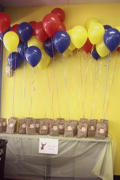 Curious George theme 2nd birthday party