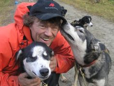 Lars Monsen, a Sámi-Norwegian adventurer and journalist, famous for his explorations and backpacking expeditions. Mountaineering, Husky, Rain Jacket, Windbreaker, Dogs, Adventurer, Jackets, Backpacking, Google
