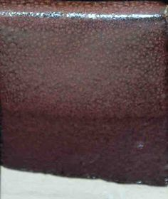 Plum Glaze C/6 Gillespie Borate 0.13 Whiting 0.087 Custer Spar 0.609 EPK 0.087…