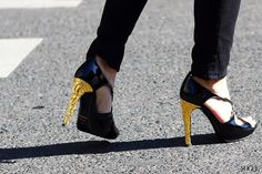 On the Street - Tom Ford shoes - Paris Fashion Week, Spring 2013