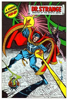 A Marvel Masterworks Pin-Up Featuring Doctor Strange