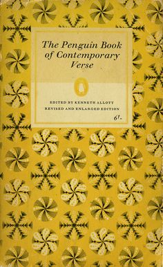 The Penguin Book of Contemporary Verse by Joe Kral, via Flickr