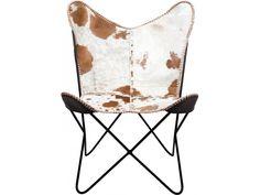 Fotel Butterfly Fur — Fotele — KARE® Design