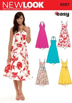 New Look 6557 Misses Dress Sewing Pattern