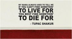 Tupac Find Something to Live For Decal Quote Sticker Wall Vinyl Art Decor - purple