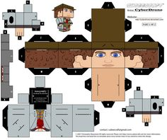 Cubee - The 4th Doctor '1of2' by CyberDrone.deviantart.com on @DeviantArt