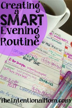 Are you looking to create a smooth, productive evening routine which will give way to a stress free morning? It's easy - here's everything you need to know!