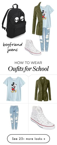 """""""Untitled #201"""" by lolaklots on Polyvore featuring Topshop, Converse and LE3NO"""